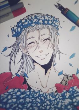 Yuri!!! on Ice - Young Victor (Traditional) by 7Repose