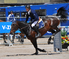 Show Jumping Stock 032 by Champi-Stock