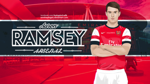 Aaron Ramsey Vector work by SemihAydogdu