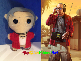 GTA V Plushes: Ron Jakowski by AkaKiiroMidoriAoi