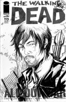 The Walking Dead Daryl Comic Version by KomicKarl