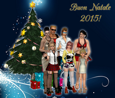 Merry Xmas 2015 By The Nukems by Leon5cottKennedy