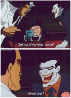 BTAS - Joker and 2-Face by Schneefuechsin