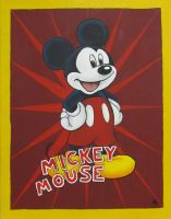 Mickey Mouse by Draco-McWherter