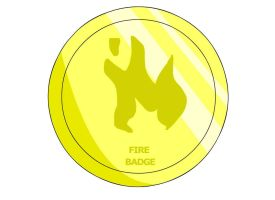 Fire Badge by RyuPointGame