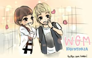 2PM - WGM - KHUNTORIA No.1 by shakri