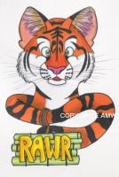 Generic Tiger Califur Badge by Captain-Sparrow