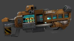 Plasma Grenade Launcher by Seargent-Demolisher