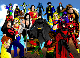 DC Icons Legacy: Future by portfan
