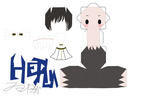 hetalia japan pattern by Grim-paper
