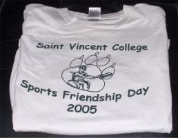 Sports Friendship Day T-shirt by kimby