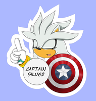 Captain Silver (sticker) by TheWinterTouch
