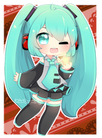 [FANART] STAR WISH MIKU by NhuQuynhLy