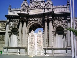 Dolmabahce Palace-10 by izzmarit-stock