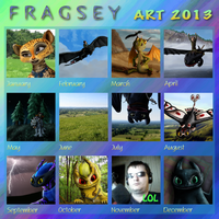 Fragsey's Art Summary of 2013 by Fragsey