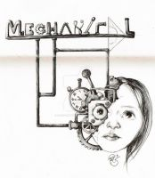 From my sketchbook 2 - Mechanical by ReginesArtwork