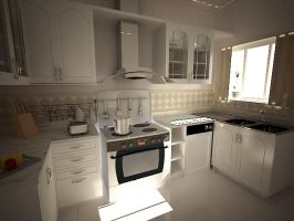 Kitchen by dinamohammad