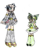 Carla And Midori Redesigns by SurgeCraft