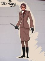 TF2 female Spy by matarioshka