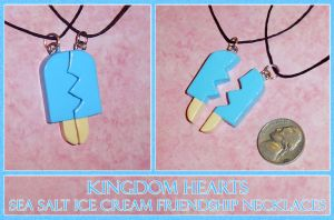 Kingdom Hearts - Friendship Sea Salt Ice Cream by YellerCrakka