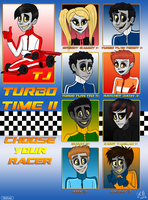 WiR:KC TTII - Choose Your Racer by MoodyBeatleGirl