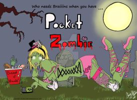 Pocket Zombie by Winged-warrior