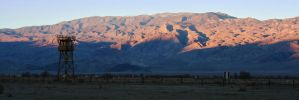 Inyo Mountains from Manzanar by orographic