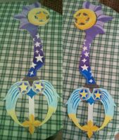 StarSeeker Keyblade - Finished by kngdmhrts2