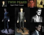 Dale Cooper Action Figure by Baker009