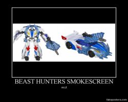 Beast Hunters Smokescreen by Onikage108