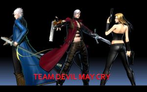 Team Devil May Cry by thereanimatedunknown