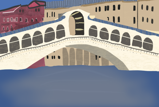 A place where you want to go - Day #29 - Venice by Swordticus