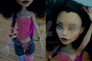 Monster High Doll Mod - Captain Phantom 2 by tbdoll