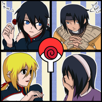 Four Uchiha-Uzumaki by DoctorMLoli