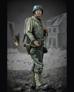 Capt Miller - Saving Private Ryan by timcatherall