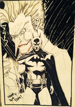 Joker and Batman by Nick-Bray