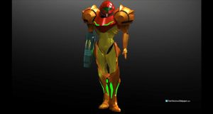 Samus Aran by Dutch02