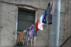 Clothesline in New York by omgphotos