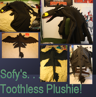 .:Toothless Plush:. by Sofy-Senpai
