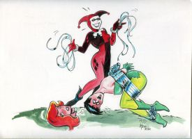 Harley and friend by Rabbette