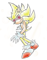 Fleetway quick sketch by SonicXLelile