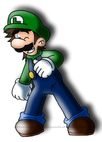 It's Luigi by AwsmYoshi