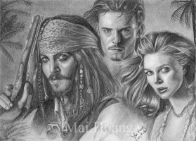 PotC Trio by MaiiiZ