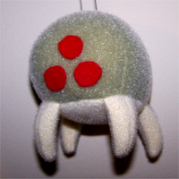Metroid Xmas tree Ornament by obesolete