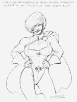 Power Girl by wjgrapes