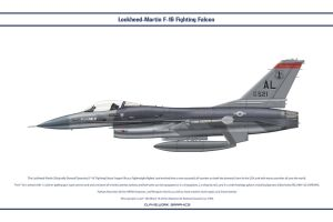 F-16 Alabama ANG 1 by WS-Clave