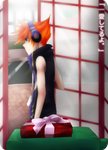 TWEWY: phone booth of love. by paichi