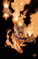Larfleeze by chimeraic