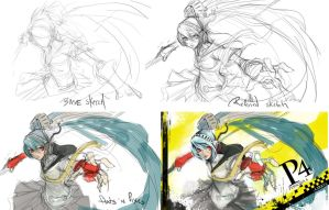 Labrys Skin process by muju