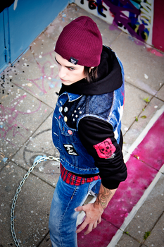 Delsin Rowe cosplay - InFamous Second Son by James--C